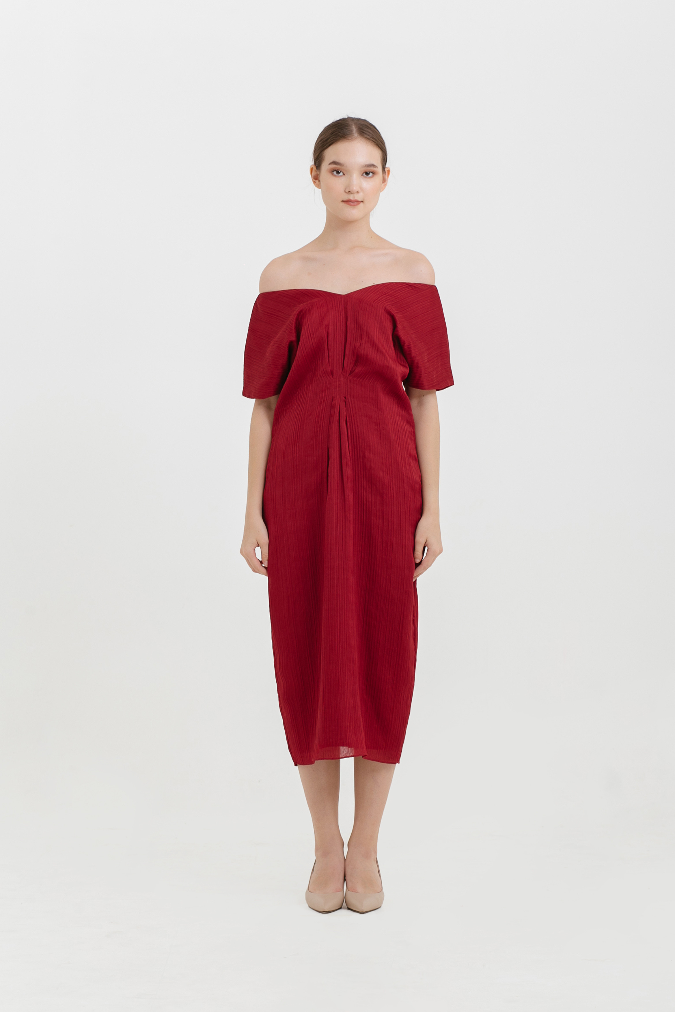 Multiway Pleat Dress