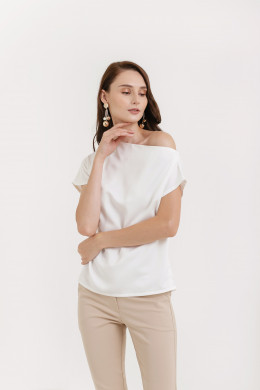 Sabina One Shoulder Top