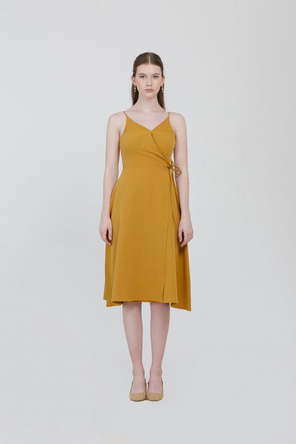 Kayla Overlap Dress