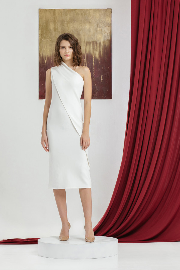 Opal One Shoulder Dress