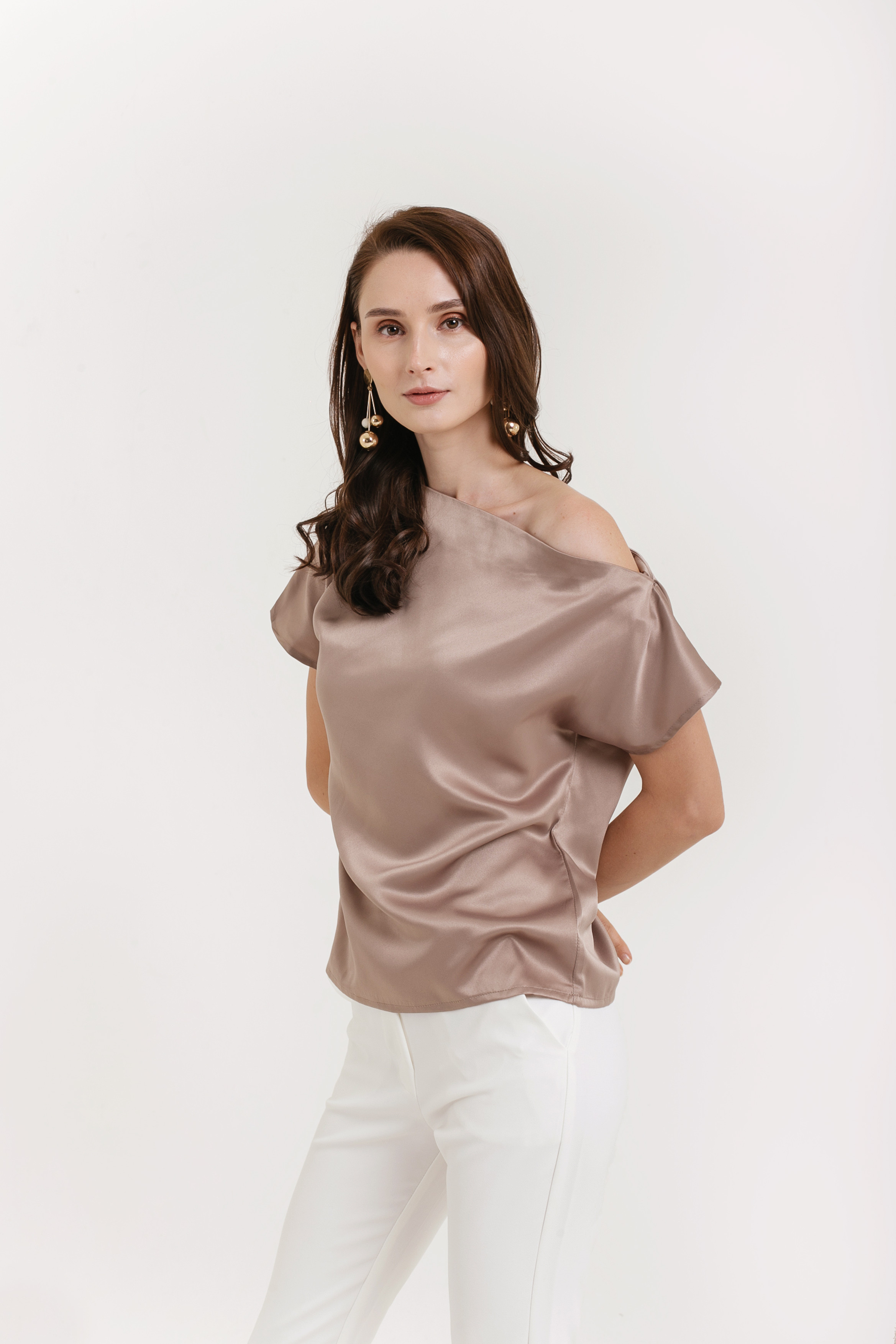 2c44b8644873 Sabina One Shoulder Top - Clothing - Shop - Cloth Inc